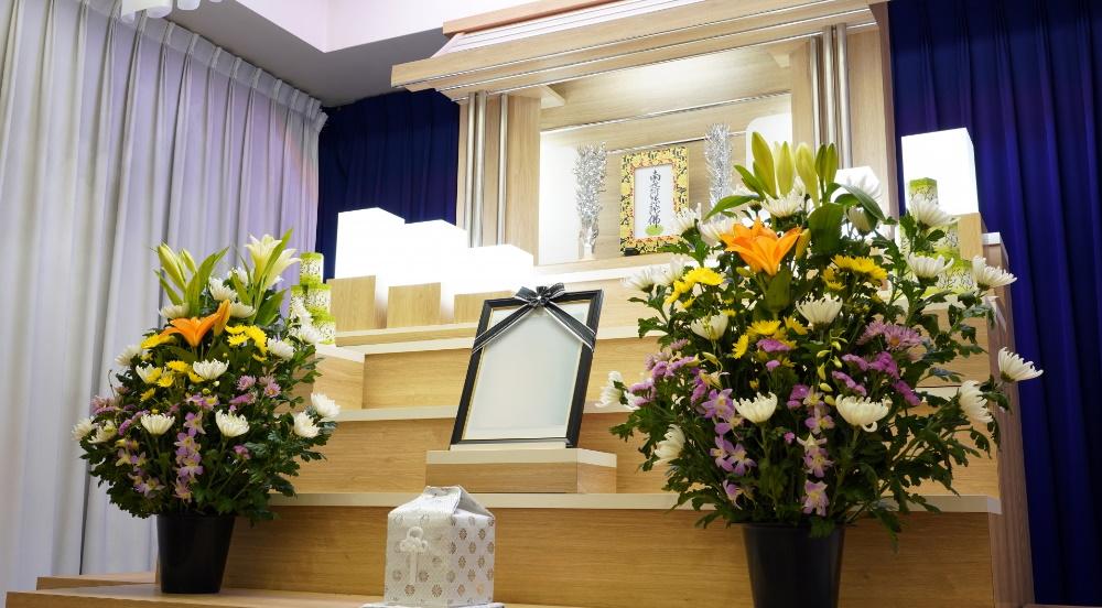 葬儀の遺影